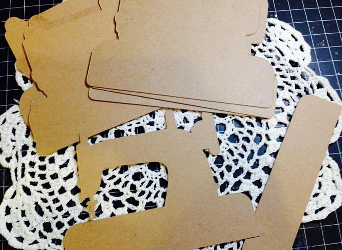 Sewing Machine Mini Album