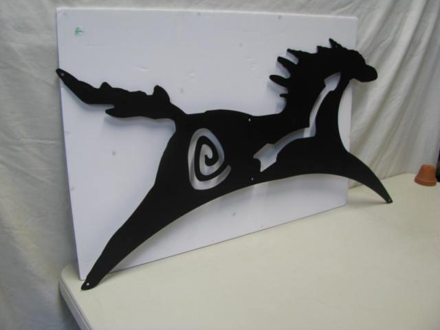 Horse E 1 XLarge Metal Wall Art Silhouette