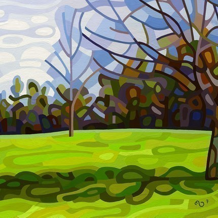 Abstract Fine Art Print - Spring Shadows
