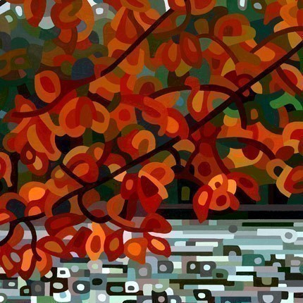 Abstract Fine Art Print - Maple Lake