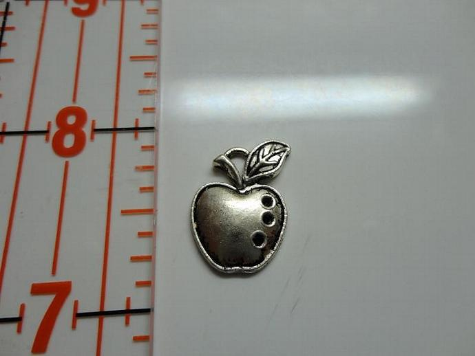 Apple Charm - Silver