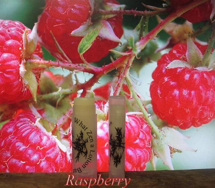 Raspberry Organic Lip Balm - 16 Luscious Flavors