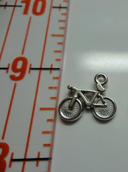Bicycle Charm - Silver
