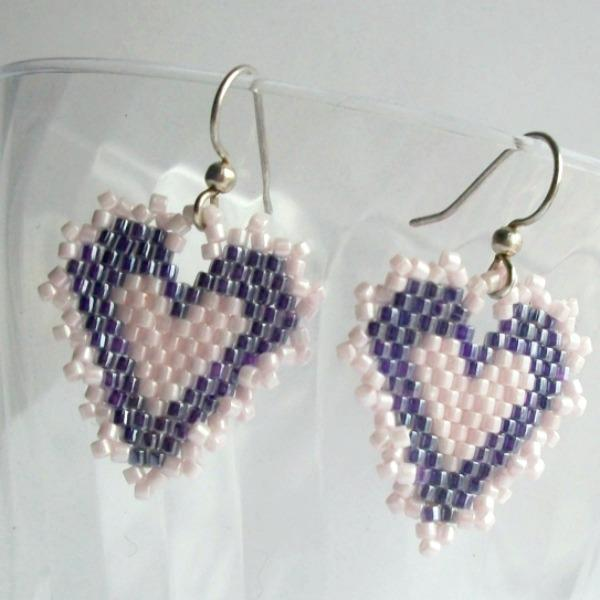 Dainty Heart Earrings