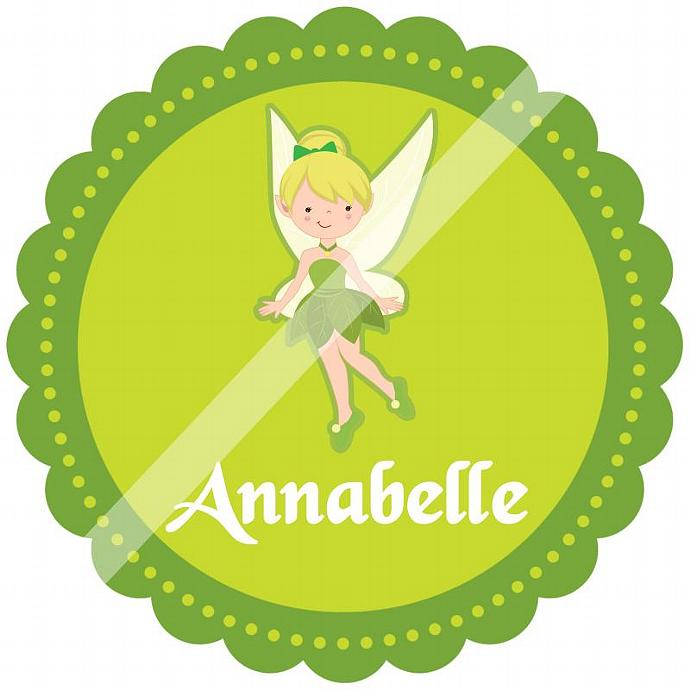 Personalized Iron-On Transfer for Kid's T-shirts. Digital Image. Annabelle