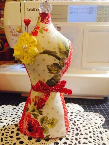 Shabby Chic Vintage Inspired Dress Form