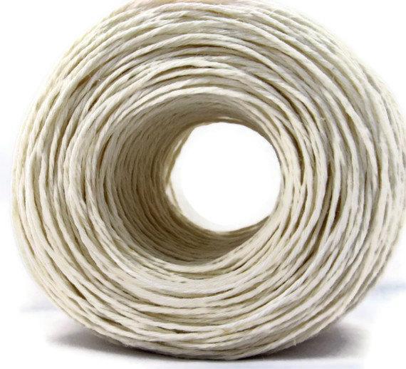 Premium White Hemp Yarn Twine