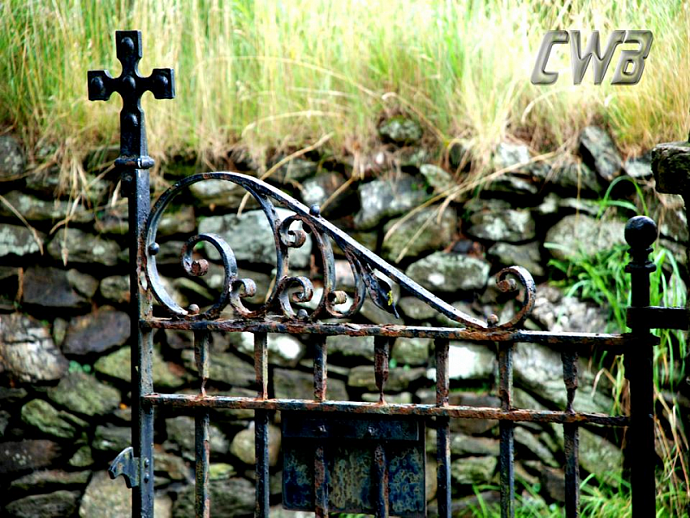 Glendalough Gate fine art print