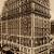 Manhattan Island New York City USA 1914 Antique Historic Edwardian Aerial