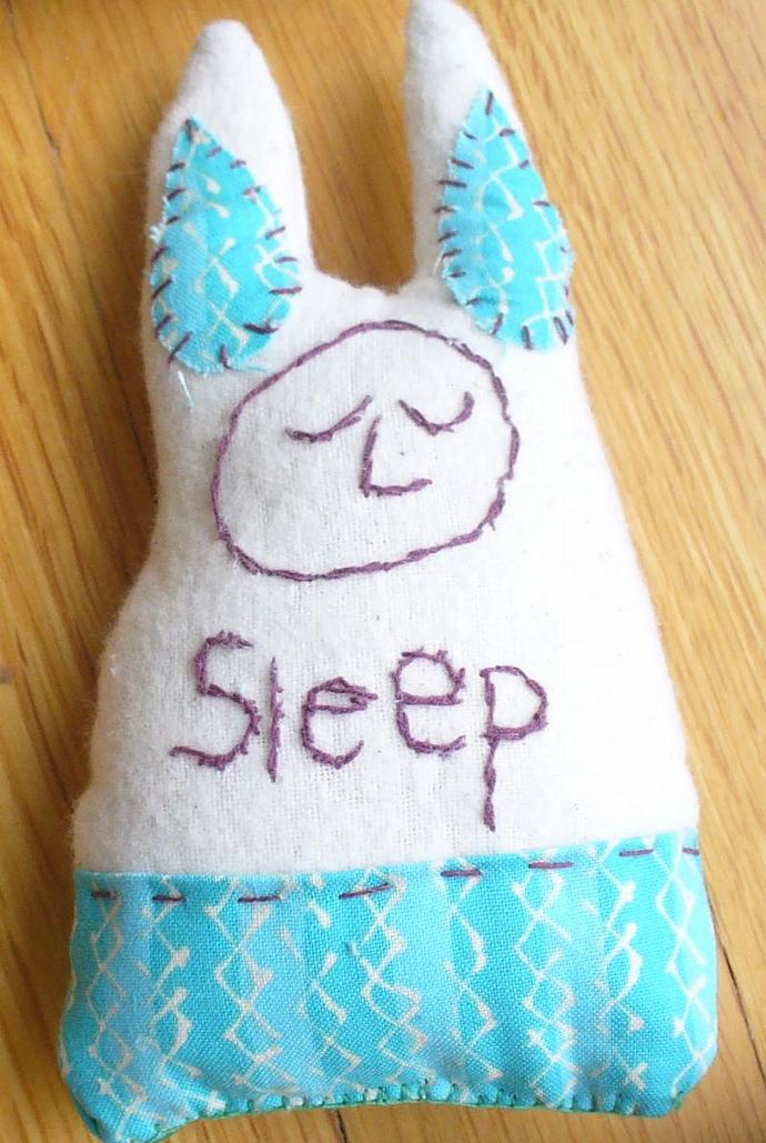 Fabric Sleep Bunny