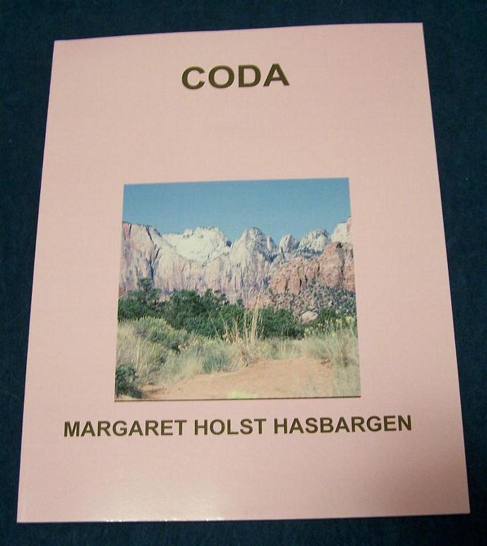 """Book of original poetry Original photography """"Coda"""" Minnesota author Book of"""