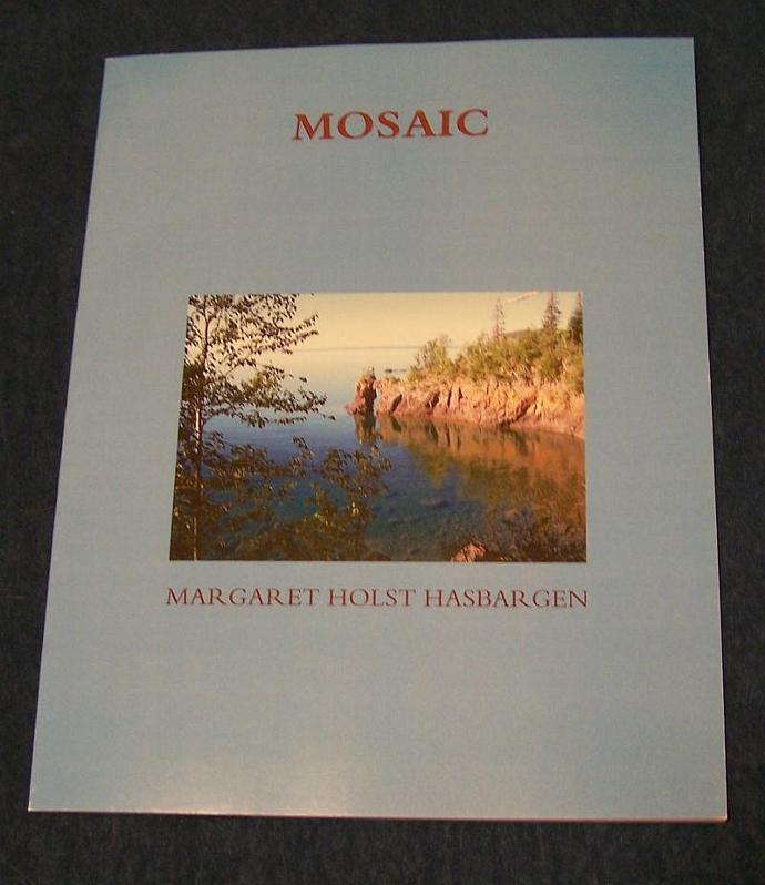 """Book of original poetry Original photography """"Mosaic"""" Minnesota author Book of"""