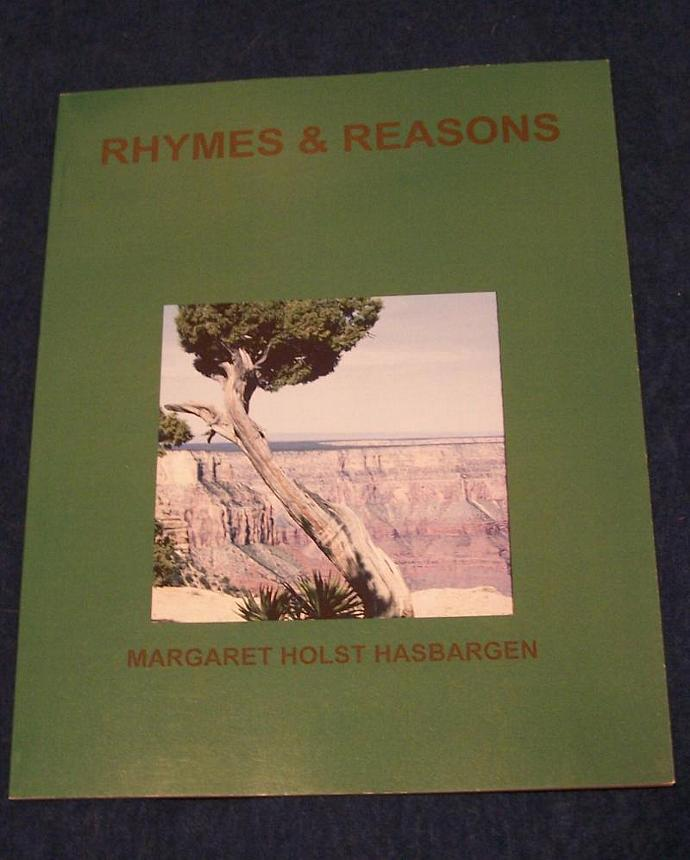 """Book of original poetry Original photography """"Rhymes and Reasons"""" Book of poetry"""