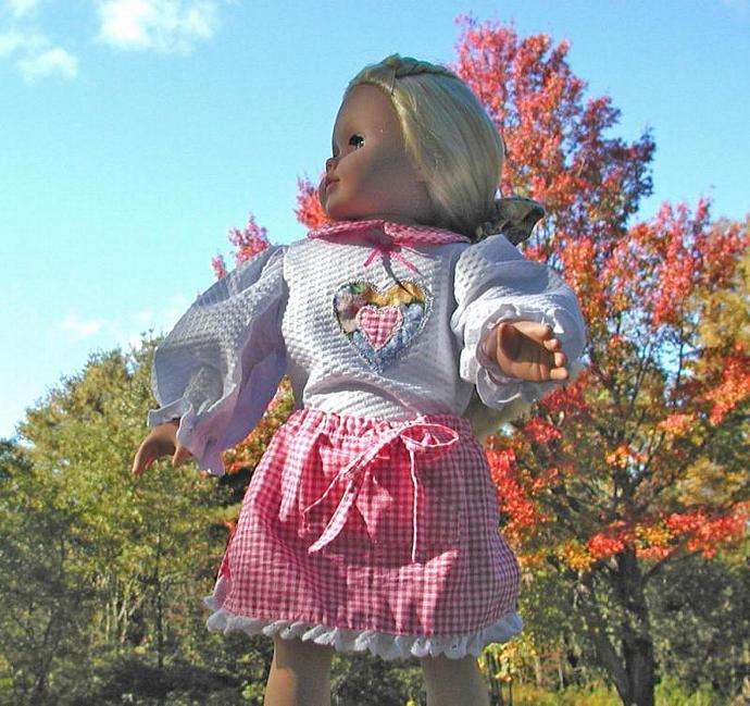 """18"""" Doll's Split Skirt Set"""