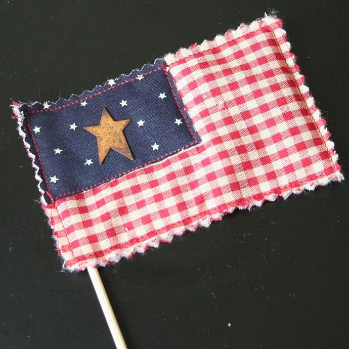 American Flag Sticks