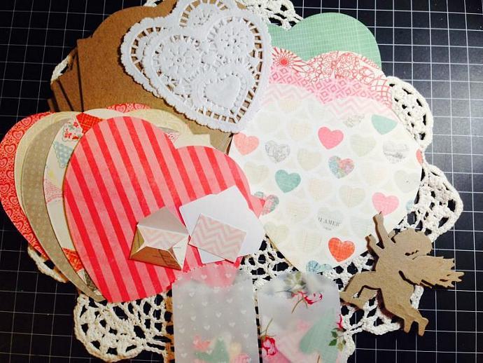 Heart Mini Album Kit (Crate Paper Fourteen)