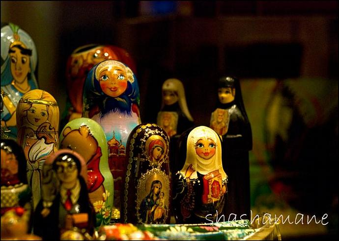 "Epiphany - Russian dolls, Harry Potter 5 x 7"" fine art photography print"