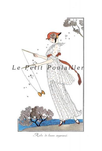 La Belle Epoque Valentine Fashion Stationery Note Flats
