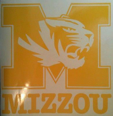 SEC MIZZOU TIGERS Cornhole Decals - Vehicle Decals Ready To Apply