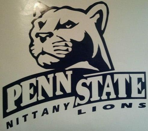 New Penn State Cornhole Decals Set Of 2 - Ready To Apply 5 Year Outdoor Vinyl