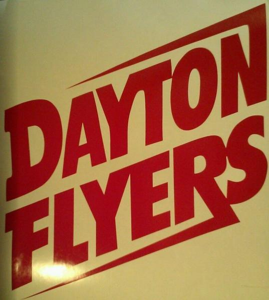 Dayton Flyers Window Decal - One 5.5 Quality Vinyl Ready To Apply 5 Year Outdoor