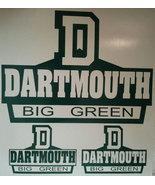 New DARTMOUTH BIG GREEN One Cornhole Decals - Window Decals Ready To Apply 5