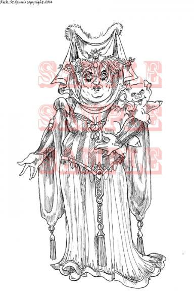 The Duchess digi stamp