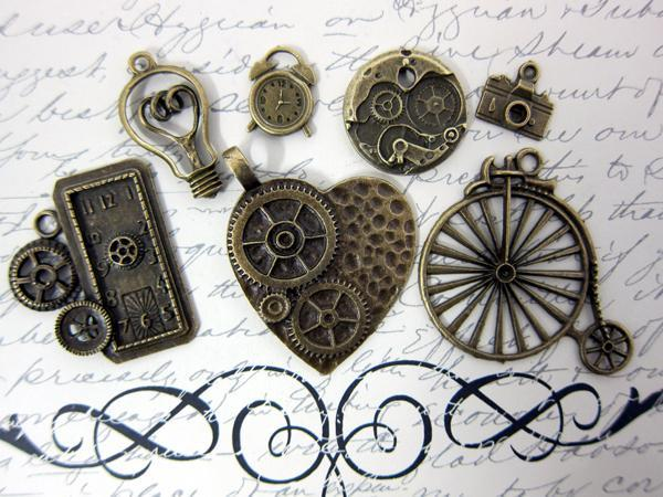 7pcs Grunge Set - Vintage Bronze