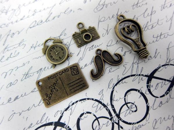 5pcs Just in Time Set - Vintage Bronze