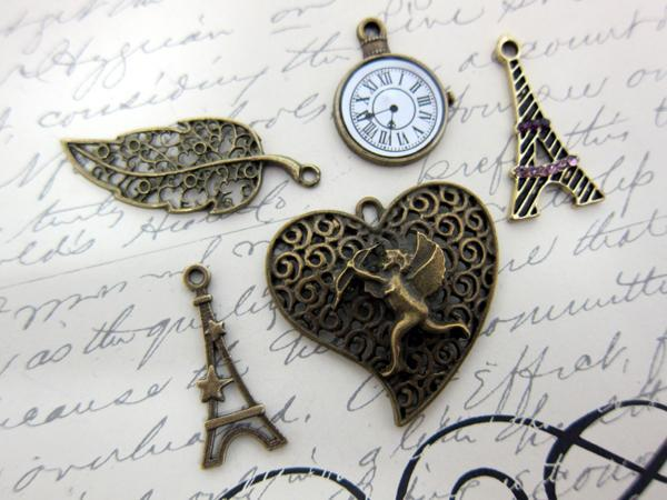 5pcs Love in Paris Set - Bronze