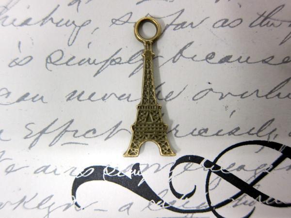 10pcs Eiffel Tower- Bronze