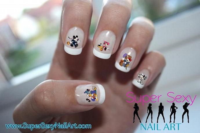 Mickey Mouse Halloween Nail Designs- HireAbility