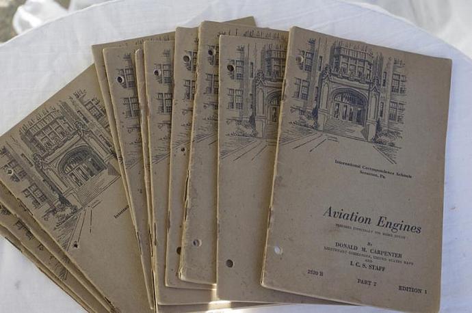 Vintage Correspondence School  Text Books