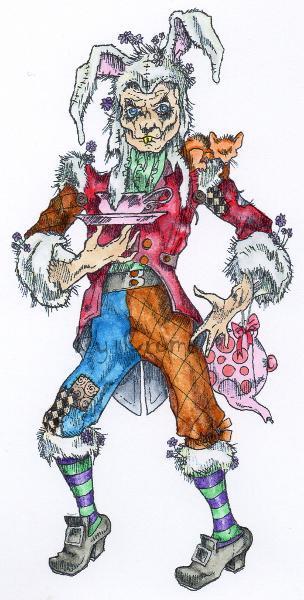 The Mad Mr Hare digi stamp