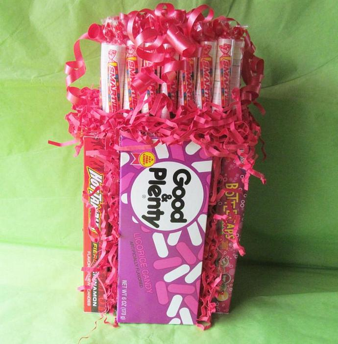 Box Candy Centerpiece - Custom Order ONLY - Candy Centerpiece, Candy Gift,