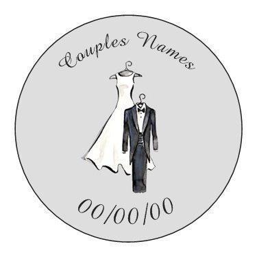Wedding/Wedding Shower Favor Tags - set of 24