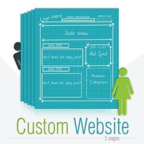 Custom 5 page website