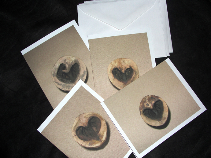 Hickory Hearts Note Card Set