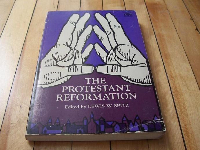 The Protestant Reformation Edited By Lewis W. Spitz 1966 Paperback Book