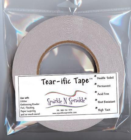 SNS SAT02 - Tear-ific Tape - 1/8 in x 165 feet