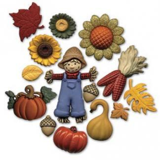 BU467A Country Harvest II Buttons