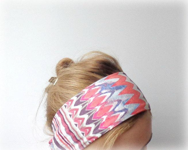 ethnic head scarf boho headband head wrap summer jersey headwrap hair band