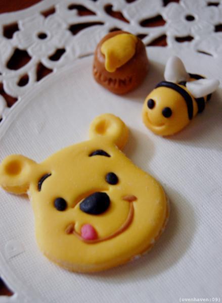 Winnie the Pooh & Tigger Fondant Toast Cookie Cutter Stencil Stamp Mold Press