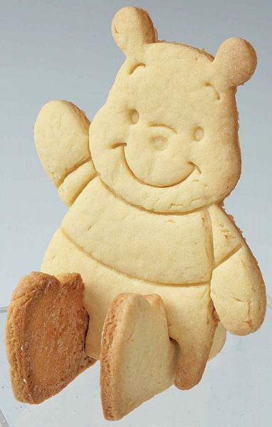 3D Winnie the Pooh Bear Toast Fondant Cookie Cutter