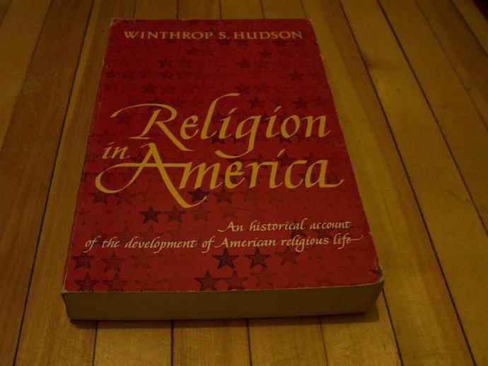 WINTHROP S. HUDSON Religion In America 1965 Trade Paperback