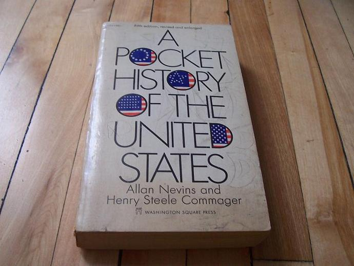 A Pocket History of the United States 1969 Paperback