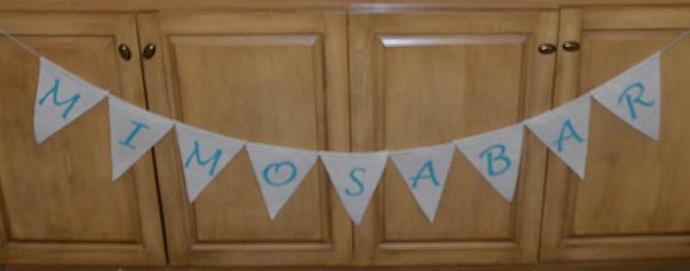 Mimosa Bar - Wedding Shower / Party Banner