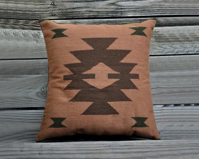Decorative Throw Pillow Handwoven Pillow Cover By Awak On Zibbet Amazing Peruvian Decorative Pillows