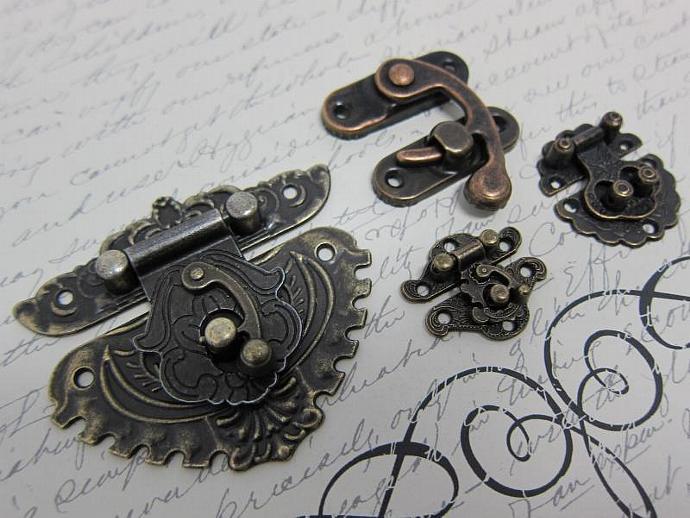 Metal Lock Buckle Sets Findings
