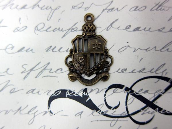 5pcs Royal Coat of Arms- Bronze stl